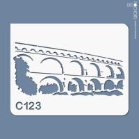 pochoir c123