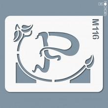 Vignette pochoir-m116