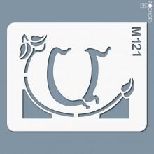 Vignette pochoir-m121