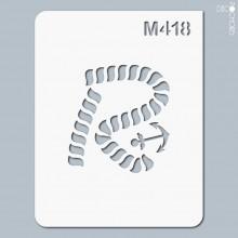 Vignette pochoir-m418
