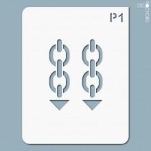pochoir-p001 Pochoir pictogramme. En stock format(s) : M...