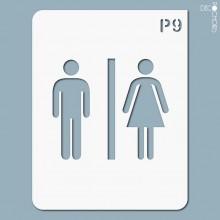 pochoir-p009 Pochoir pictogramme. En stock format(s) : M...