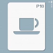 pochoir-p010 Pochoir pictogramme. En stock format(s) : M...