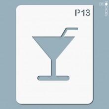 pochoir-p013 Pochoir pictogramme. En stock format(s) : M...
