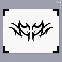 Vignette sticker-c305